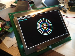 Optrex 5inch 800x480 LCD